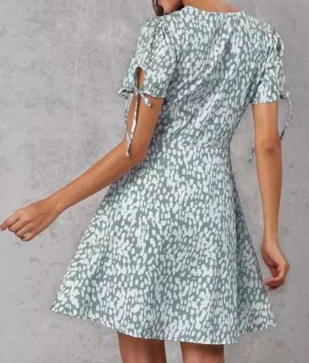 look da sognatrice romantica abito corto