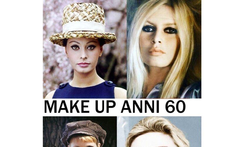 trucco anni 60 storia caratteristiche make up e icone femminili