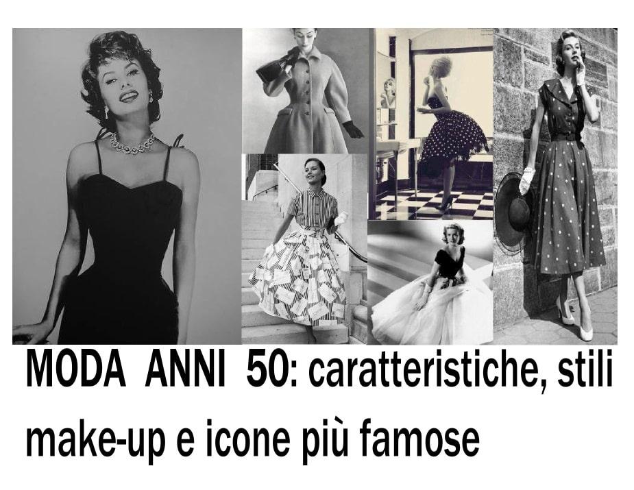 stili di moda anni 50