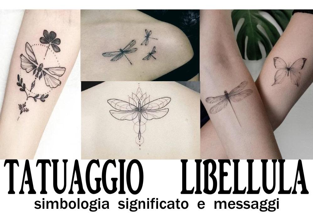 tatuaggio libellula simbologia significato e messaggi
