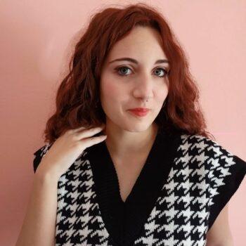 abbigliamento per capelli rossi