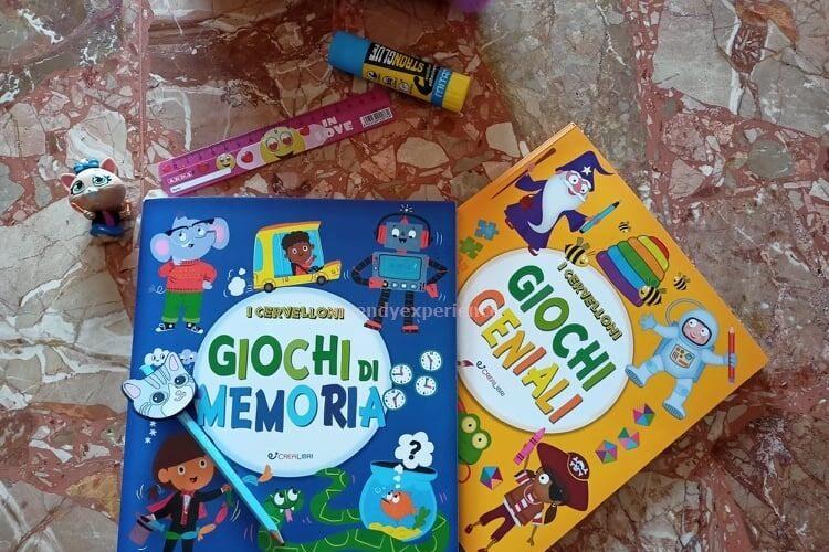 i cervelloni giochi di memoria per bambini recensione