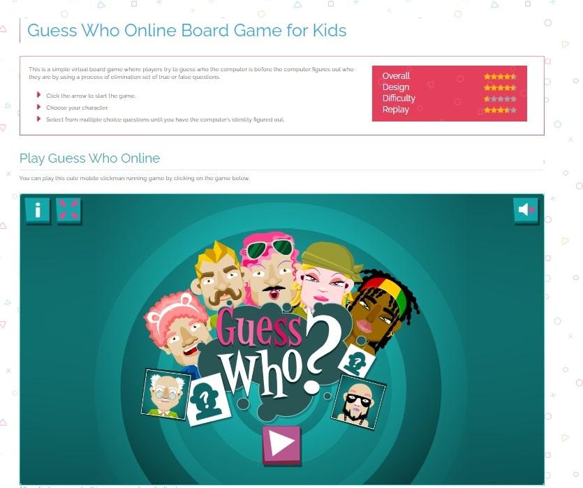 videogiochi online gratuiti: indovina chi