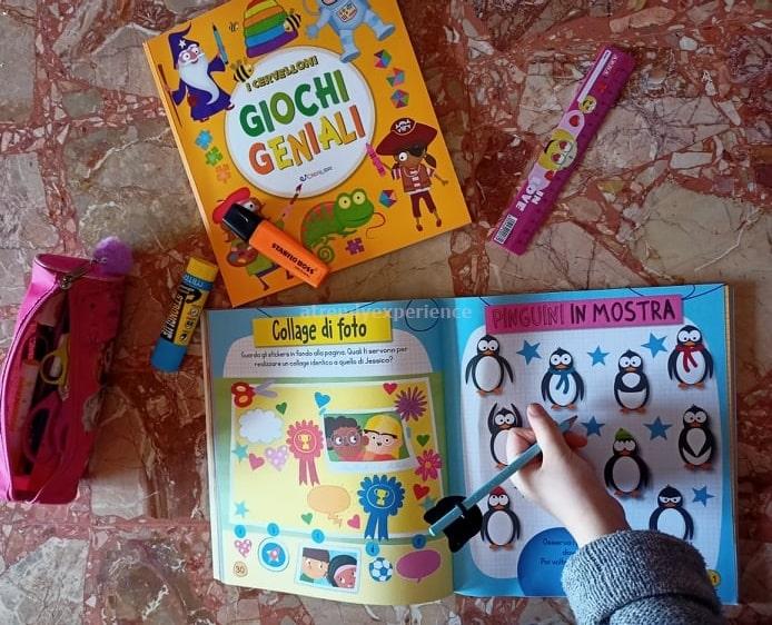 i cervelloni giochi di memoria libro per bambini