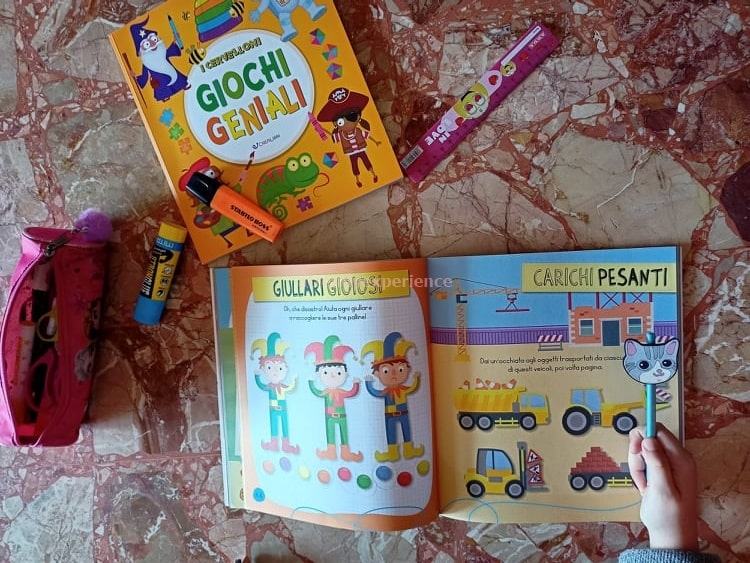 giochi di memoria libro didattico per bambini