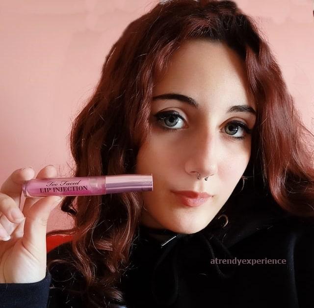 lip injection Too Faced maximum plum recensione