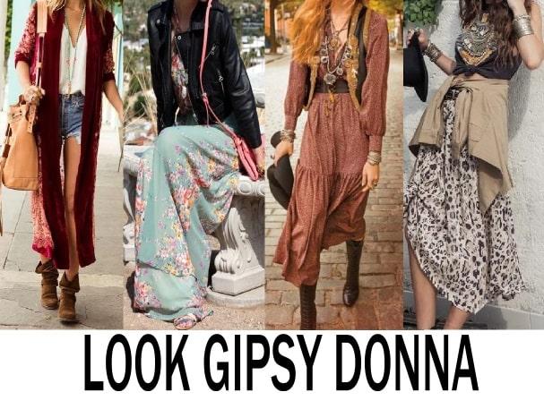 Look Gipsy donna: i capi principali