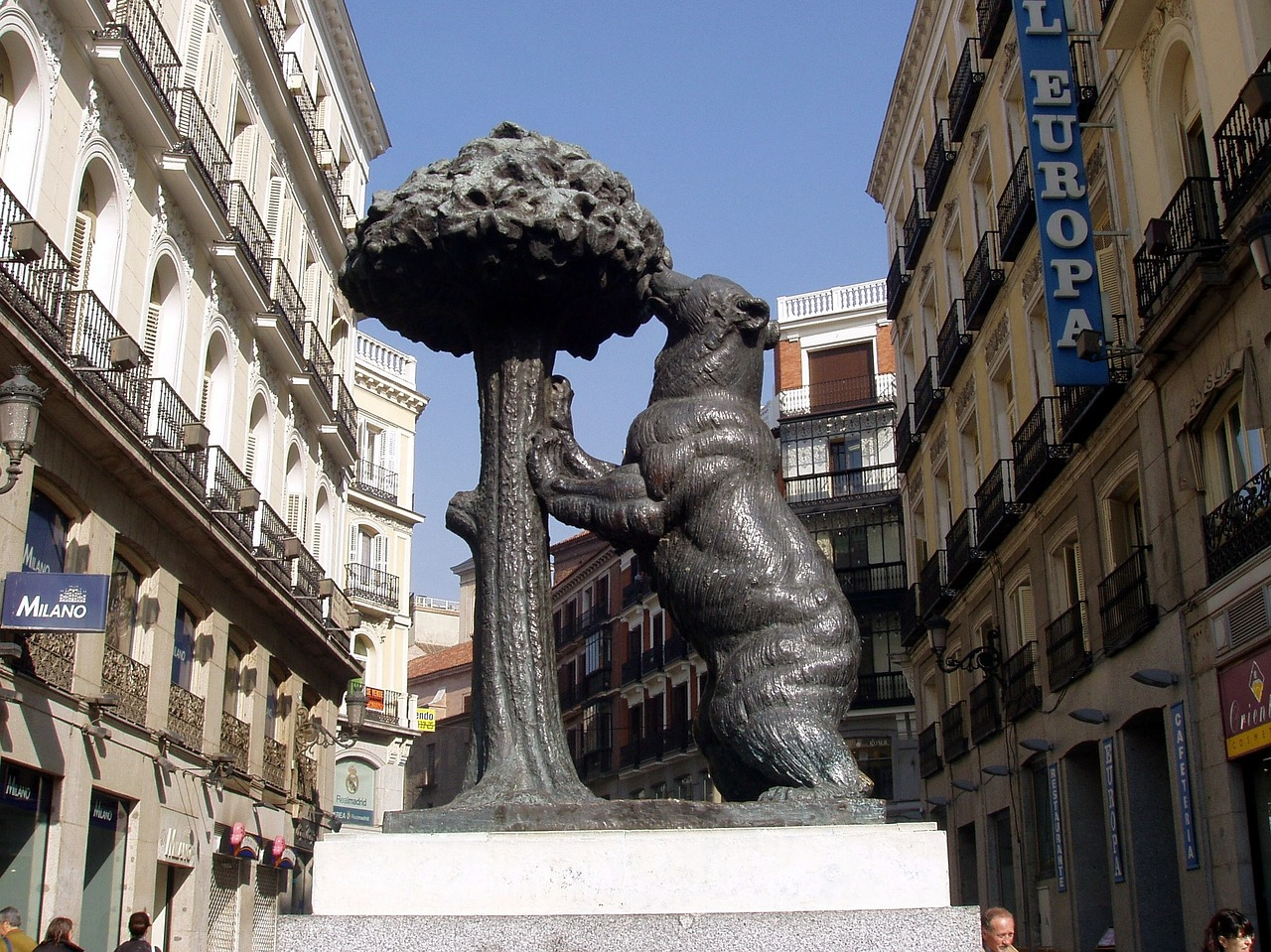 orso simbolo cittadino di Madrid