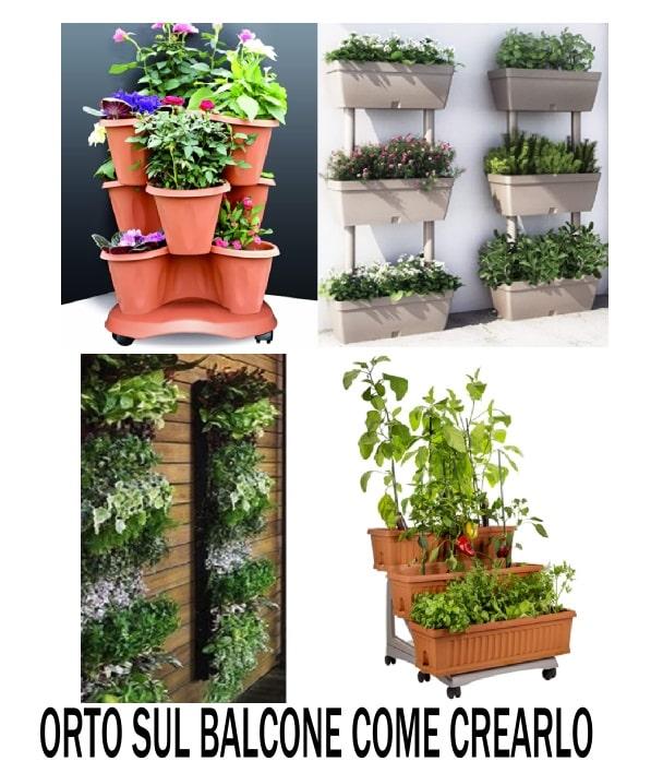 come creare l'orto sul balcone