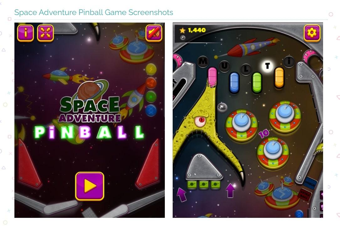 videogiochi gratuiti online: space adventure pinball