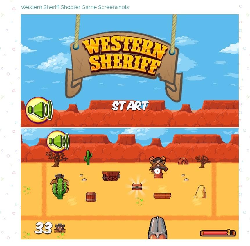 videogiochi gratuiti online: western sherif
