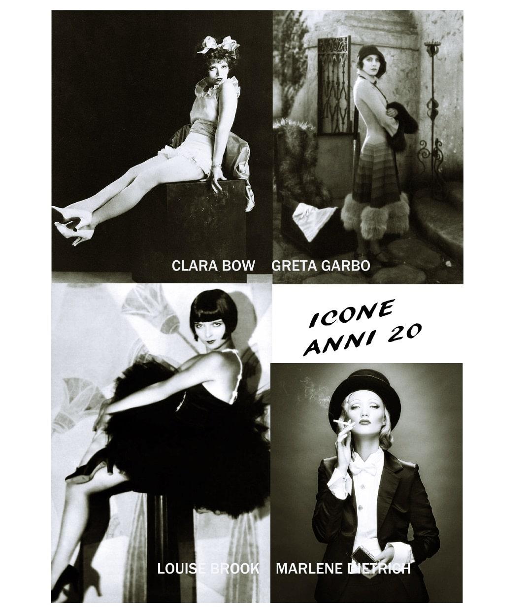 Le icone di stile e di bellezza degli anni 20