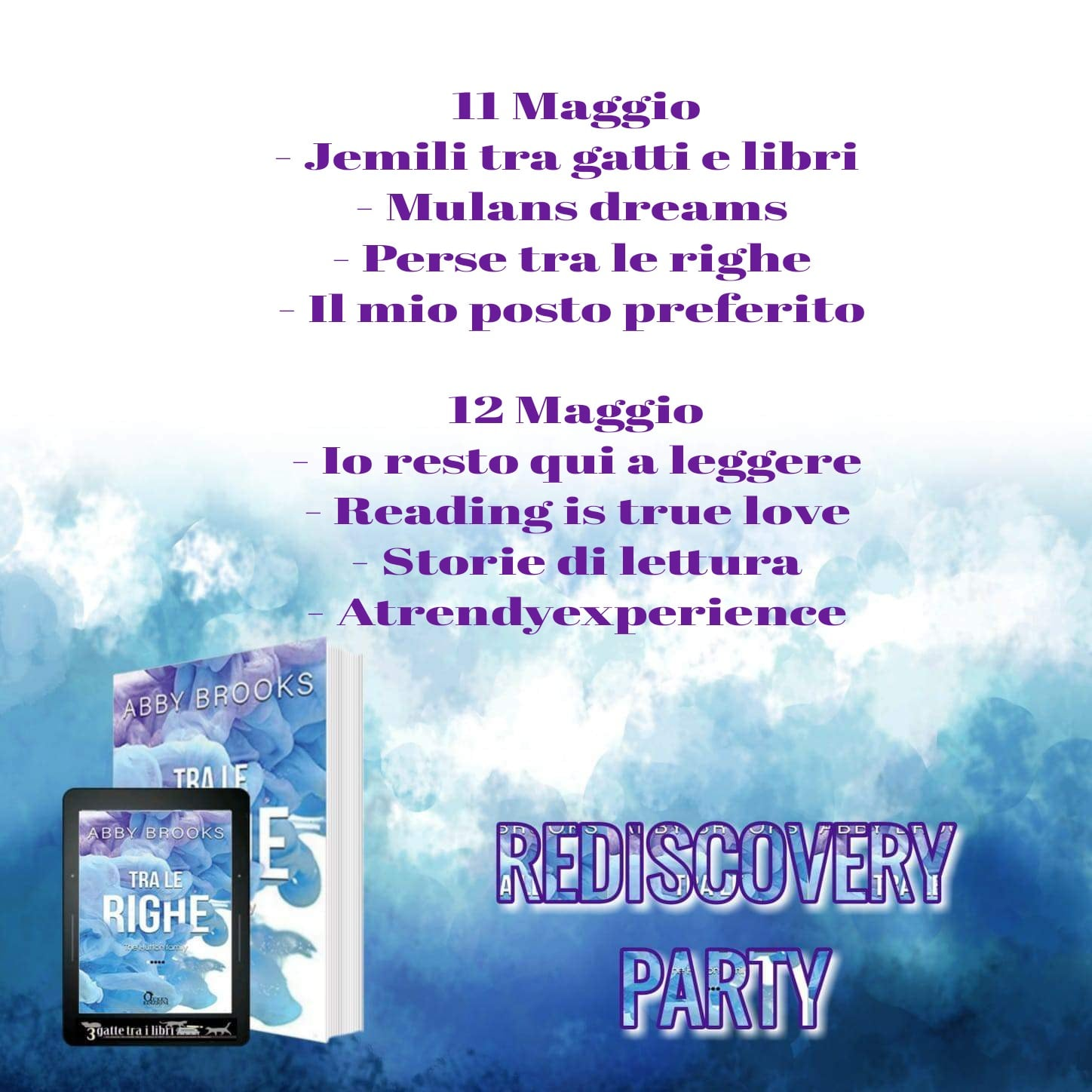 rediscovery party di abby brooks