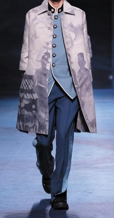 Dior  capispalla uomo di tendenza per la moda autunno inverno 2021 2022