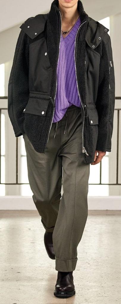 Hermes Tendenze moda nella maglieria da uomo