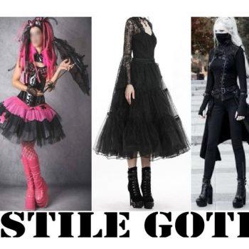 stile goth stile gotico tutto sulla moda gotica