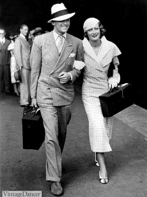 Moda uomo e donna negli anni 30