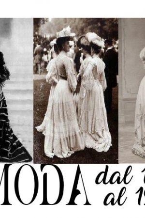 tipi e stili di moda dal 1900 al 1920