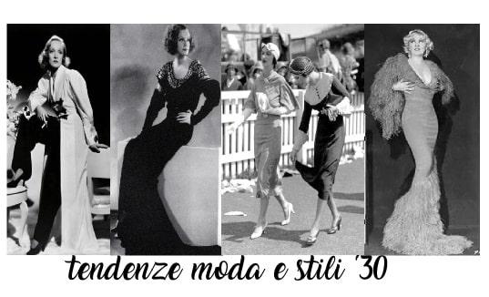 Storia Dei Tipi E Stili Di Moda Anni 30: Tendenze, Influenze, Accessori, Abiti E Icone