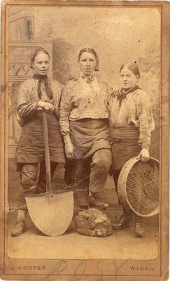 Abiti da mestiere nel 1800