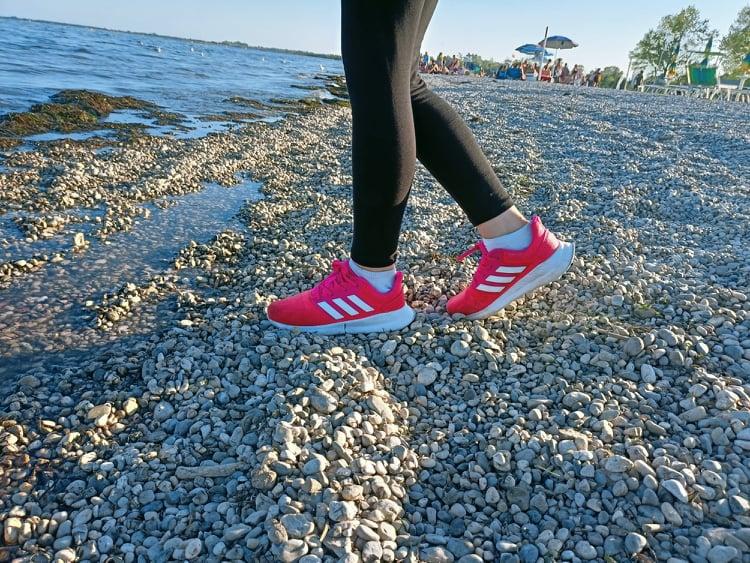 Beach walking quanto camminare per cominciare