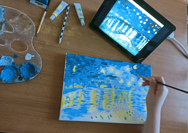 l'arte homeschooler studiare a casa