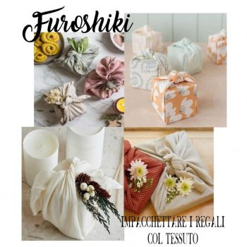 Furoshiki L'arte Giapponese Di Impacchettare I Regali Col Tessuto Zero Waste