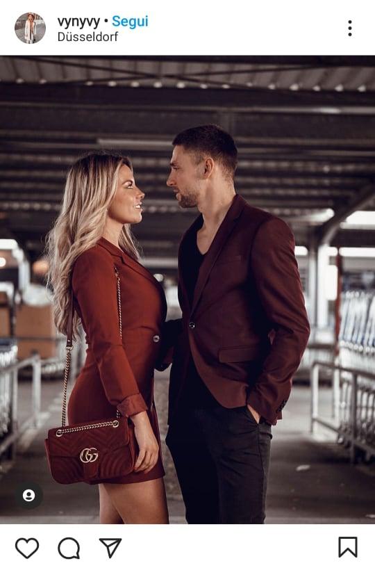 look di coppia elegante coordinato