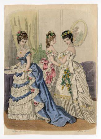 Regency vittoriano vs Belle Epoque moda francese 1800