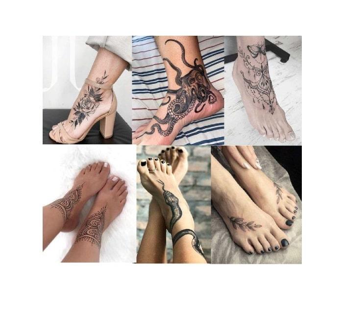 Il Soggetto Per il Tatuaggio Sul Piede