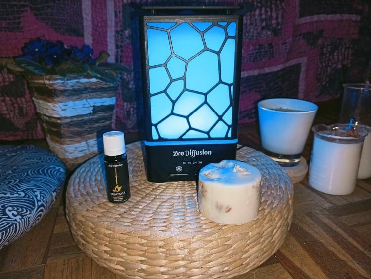 Zen Diffusion Il Diffusore Oli Essenziali Per Aromaterapia, Cromoterapia E Relax Mentale