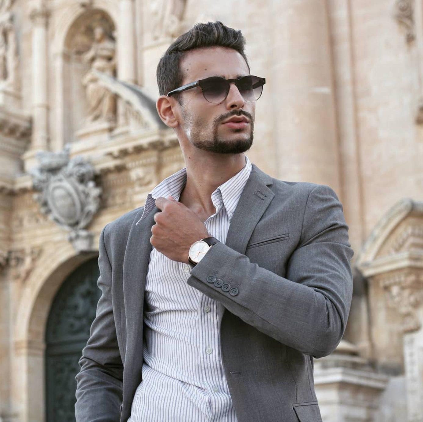 Giacche Moda Uomo Autunno Inverno 2021 2022 Corrado Firera, Web influencer italiani, fashion blogger italiani, giacche per uomo, modelli
