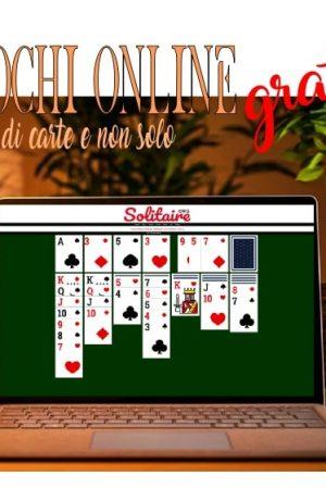 giochi di carte gratis online senza scaricarli