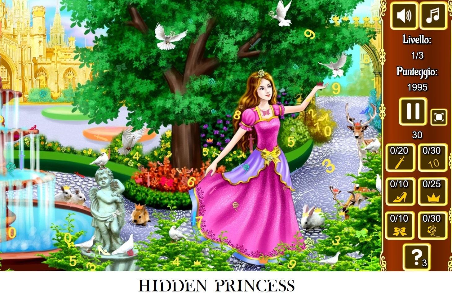 gioco online hidden princess