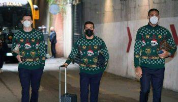 maglioni natalizi a.s. Roma Christmas Jumpers