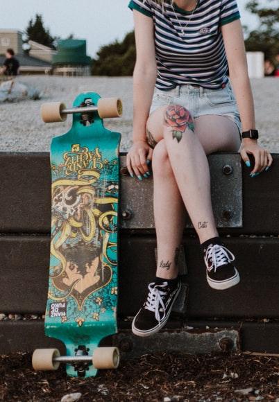 Pantaloni abbigliamento skater