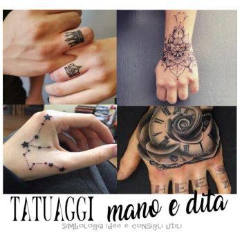Tatuaggio Mano E Dita Significato, Disegni, Dove Farlo, Cura E Manutenzione