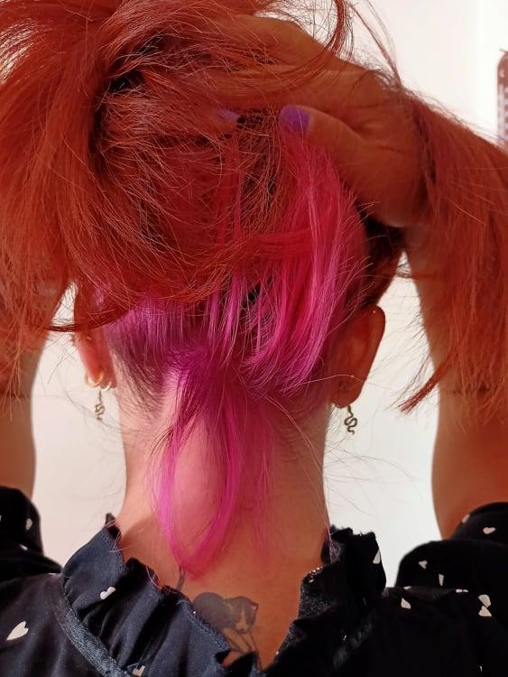 Underlights Capelli Colorati Nascosti tecnica e colori, tipologia e lunghezza capelli