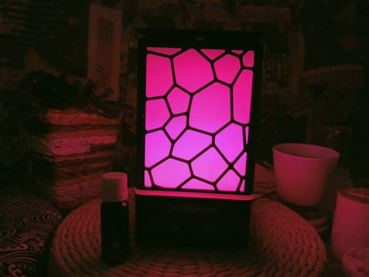Diffusore Zen Diffusion i colori led rilassanti