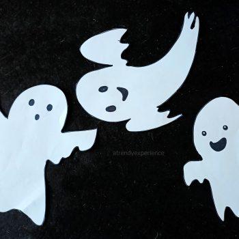 disegni di fantasmi di halloween per bambini